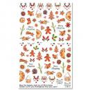 Weihnachts X-Mas Nagel Sticker F797