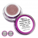 Professional Make UP Gel Glamcover Nude Silber
