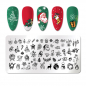 Preview: Stamping Schablone X-Mas ND-197