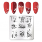 Preview: Stamping Schablone X-Mas ND-201
