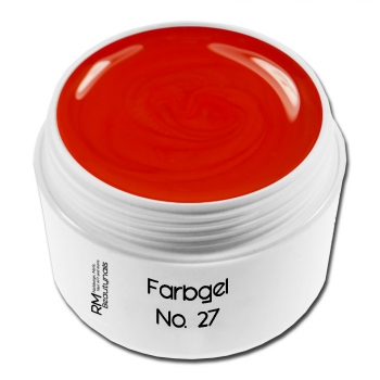 Basic Farbgel No. 27 Glasgel Rot