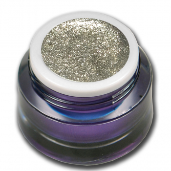 Premium Fine Chrome Glitter Gel No. 10 Silver
