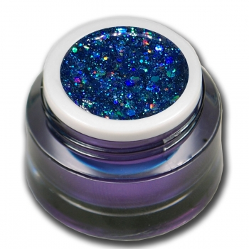 Premium Glitter Color Gel Crazy Lace No.9 Blue
