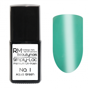 Simply-Lac Premium UV-Polish Nr. 1 Aqua Green 10ml