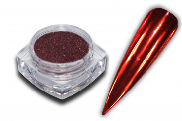 Color Chrome Pigment Puder Rot