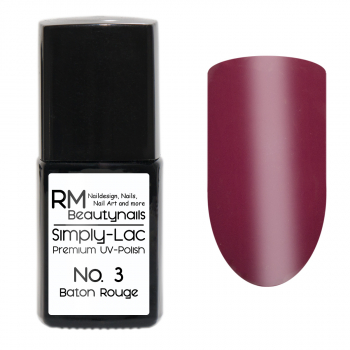 Simply-Lac Premium UV-Polish Nr. 3 Baton Rouge 10ml