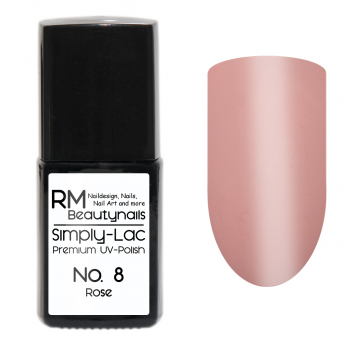 Simply-Lac Premium UV-Polish Nr. 8 Rose 10ml