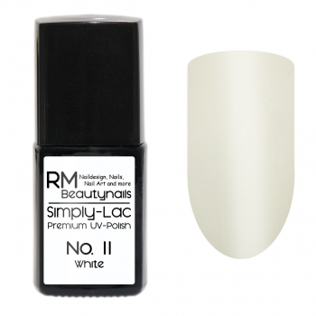 Simply-Lac Premium UV-Polish Nr. 11 White 10ml