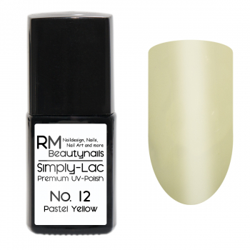 Simply-Lac Premium UV-Polish Nr. 12 Pastel Yellow 10ml