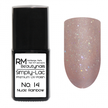 Simply-Lac Premium UV-Polish Nr. 14 Nude Rainbow 10ml