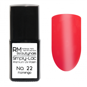 Simply-Lac Premium UV-Polish Nr. 22 Flamingo 10ml