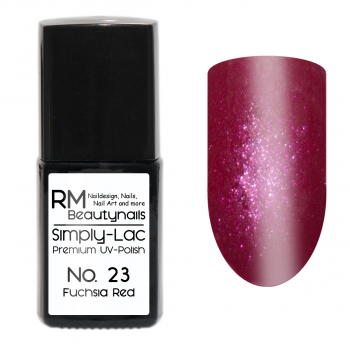 Simply-Lac Premium UV-Polish Nr. 23 Fuchsia Red 10ml