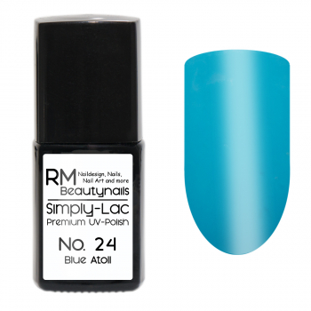 Simply-Lac Premium UV-Polish Nr. 24 Blue Atoll 10ml