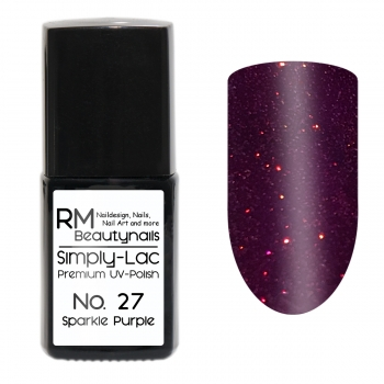 Simply-Lac Premium UV-Polish Nr. 27 Sparkle Purple 10ml