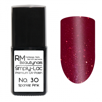 Simply-Lac Premium UV-Polish Nr. 30 Sparkle Pink 10ml