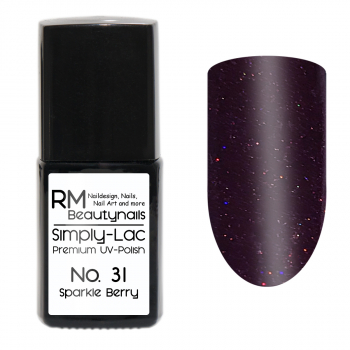 Simply-Lac Premium UV-Polish Nr. 31 Sparkle Berry 10ml