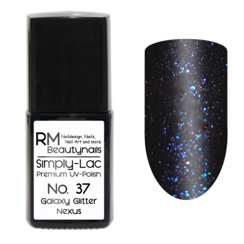 Simply-Lac Premium UV-Polish Nr. 37 Galaxy Glitter Nexus 10ml