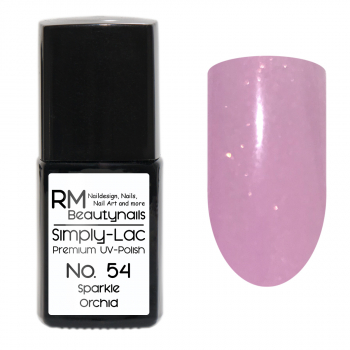 Simply-Lac Premium UV-Polish Nr. 54 Sparkle Orchid
