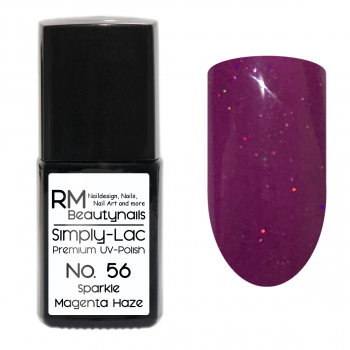 Simply-Lac Premium UV-Polish Nr. 56 Sparkle Magenta Haze