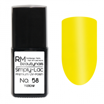 Simply-Lac Premium UV-Polish Nr. 58 Yellow
