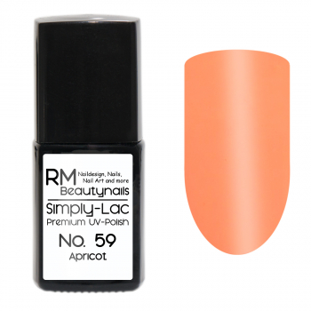 Simply-Lac Premium UV-Polish Nr. 59 Apricot
