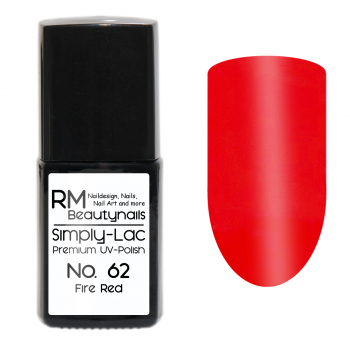 Simply-Lac Premium UV-Polish Nr. 62 Fire Red