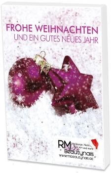 Adventskalender UV-Gel Farbgel 2019