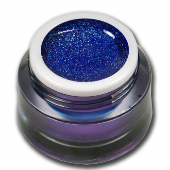 Glittergel UV Gel No. 86 Holo Blue