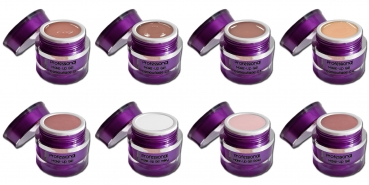 Professional Make Up UV Gel Testset