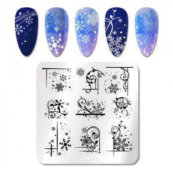 Stamping Schablone X-Mas ND-201