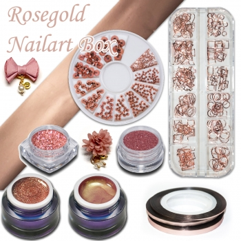 Rosegold Nailart Box