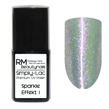Simply-Lac Premium UV-Polish Sparkle Effekt Coat No. 1