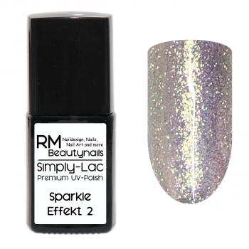 Simply-Lac Premium UV-Polish Sparkle Effekt Coat No. 2