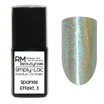 Simply-Lac Premium UV-Polish Sparkle Effekt Coat No. 3