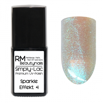 Simply-Lac Premium UV-Polish Sparkle Effekt Coat No. 4