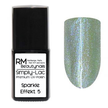Simply-Lac Premium UV-Polish Sparkle Effekt Coat No. 5