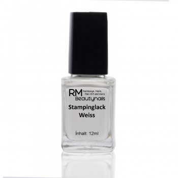 Stamping Lack Weiss 12ml