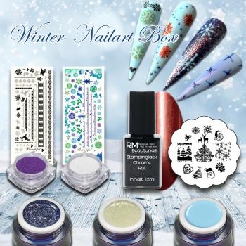 Winter Nailart Box