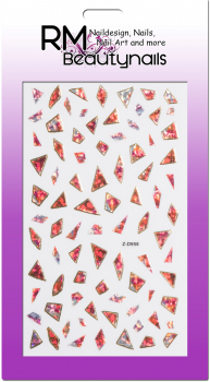 Nail Wrap Holo Splitter XXL Sticker Z-D958