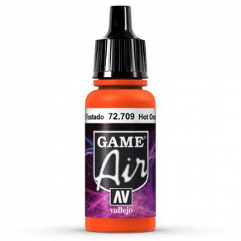 Vallejo Game Air 709 Hot Orange, 17 ml