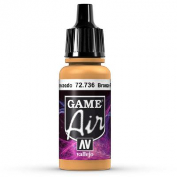 Vallejo Game Air 736 Bronze Fleshtone, 17 ml