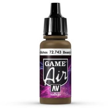 Vallejo Game Air 743 Beasty Brown, 17 ml