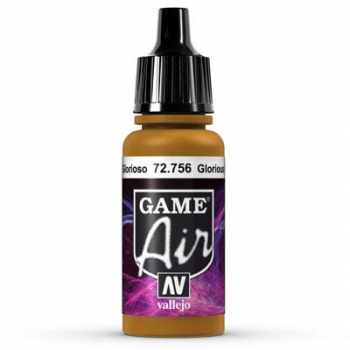 Vallejo Game Air 756 Glorious Gold, 17 ml