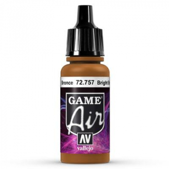 Vallejo Game Air 757 Bright Bronze, 17 ml