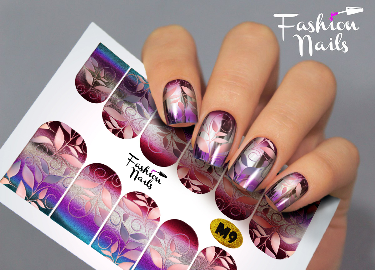 Fashion Nail Nail Wrap Fullcover Sticker Rm Beautynails Nageldesign