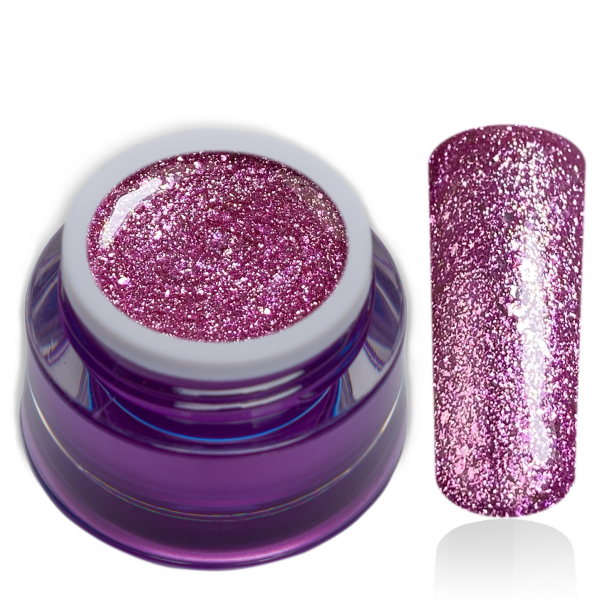 Premium Chrome Glitter Gel No. 24 Chacha Violet