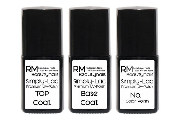 simply lac premium uv polish starter set rm beautynails nageldesign. Black Bedroom Furniture Sets. Home Design Ideas