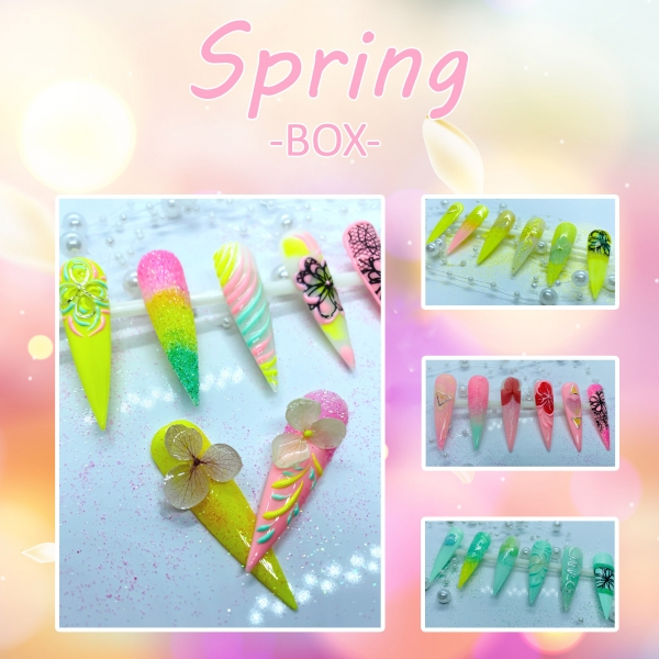 Spring Nailart Box