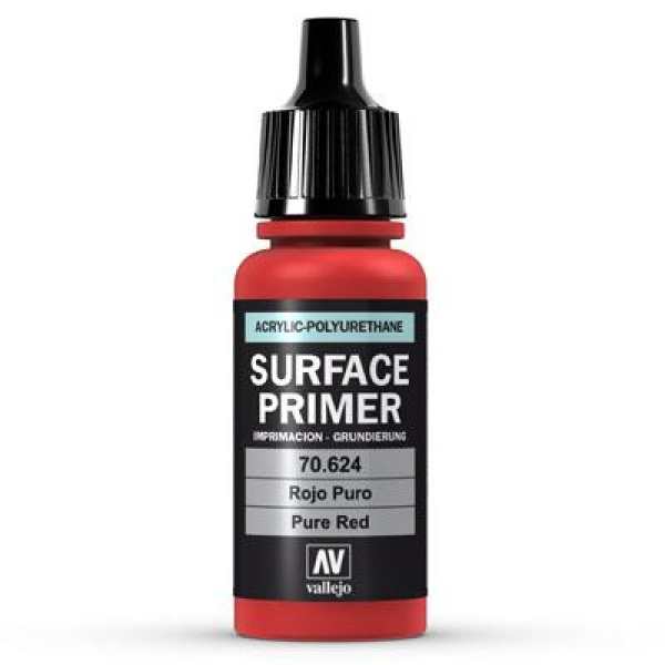 Vallejo Surface Pure Red 17ml