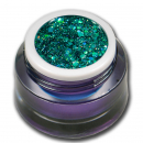 Glittergel UV Gel Exclusive Big Glitter Grün 5ml